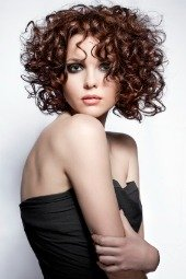 short haircuts for curly hair 2012