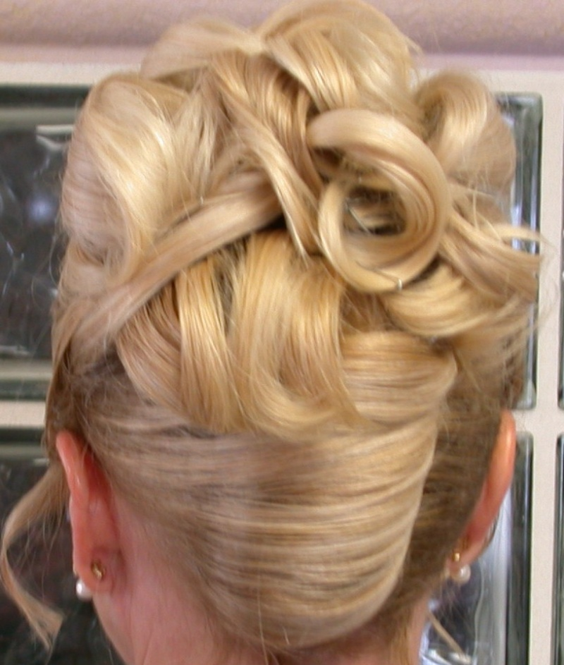Modern Wedding Hairstyles For The Cool Contemporary Bride: Updos For Long Hair Pictures And Ideas For Long Hair Updos