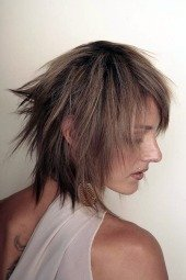 womens short haircuts choppy shaggy